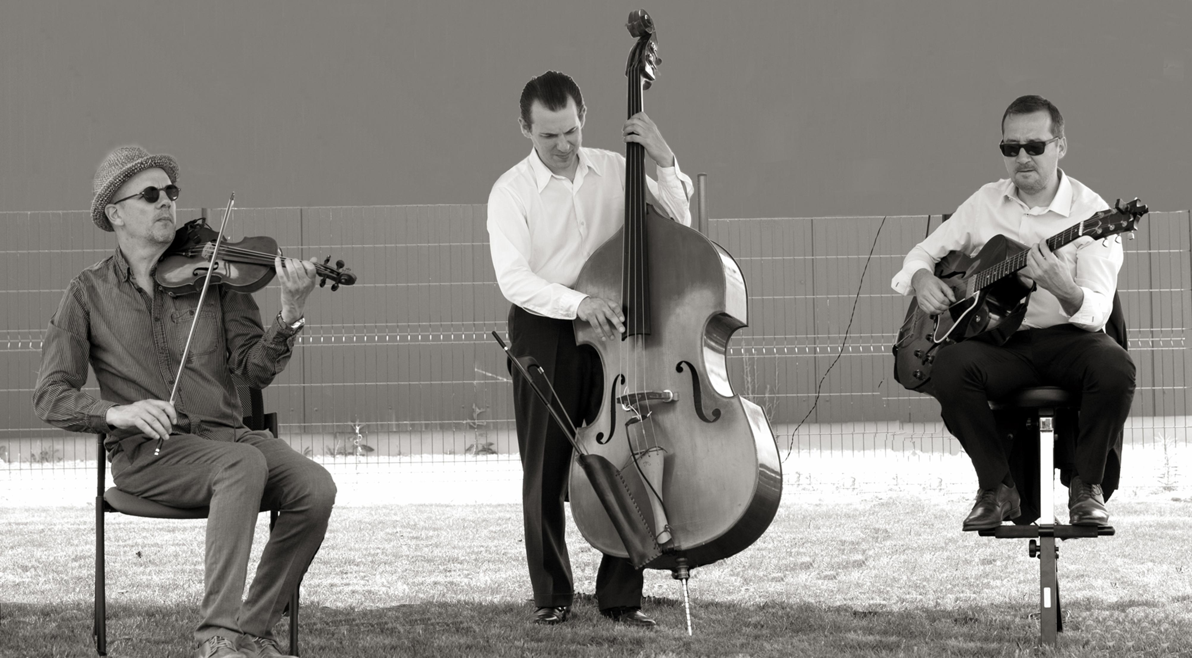 jazz trio hommage à Stéphane Grappelli cocktail mariage