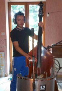 contrebasse Esteban Felix Jazz Manouche